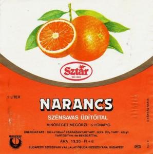 Sztár narancs (1986)