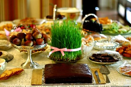 Haft-Sin- a perzsa Nowruz fesztivál hét szimbóluma