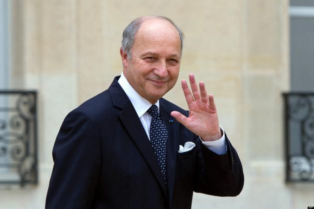 Laurent Fabius francia külügyminiszter