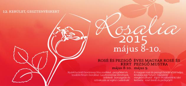 Rosalia 2015 május 8-10