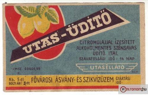 Utas-Üdítő (1959) (Forrás: retronom)