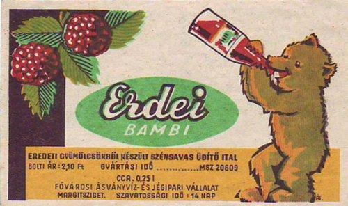Erdei Bambi, 1963 (Forrás: retronom)