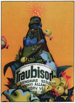 Traubisoda plakát (1975) (Forrás: retronom)
