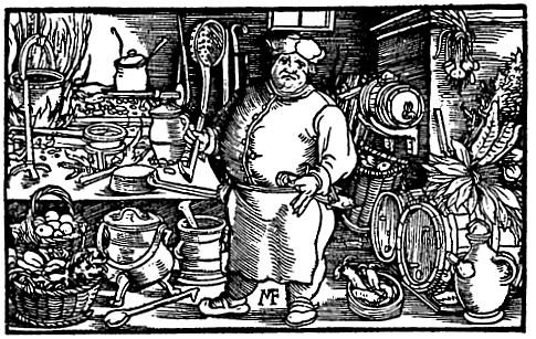 Középkori szakács (Maestro Martino)