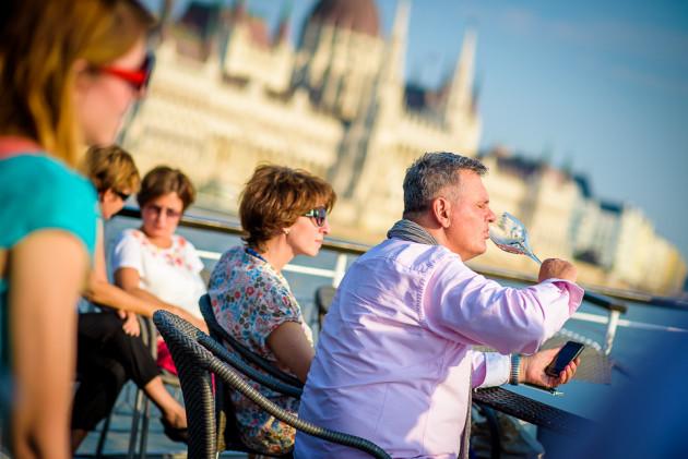 A Pannónia hajón kóstolok (2015. június)