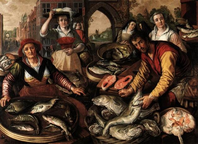 Joachim Beukelaer, A szakács (1574, olaj, fatábla, 112 x 81 cm, Kunsthistorisches Museum, Bécs)