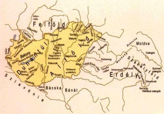 Néprajzi térkép