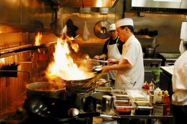 kínai szakácsok