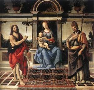 Arezzoi Szent Donát (jobbra)