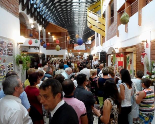 Madzagfalvi Napok, 2015 - kiállítás megnyitó a Békés Városi Kecskeméti Gábor Kulturális, Sport és Turisztikai Központban (2015)
