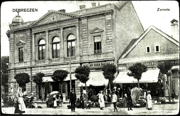 Debrecen 1900 körül (Forrás: egykor.hu)