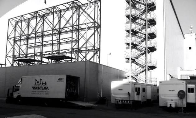 The Martian - Mentőexpedíció. A forgatás egyik helyszíne (Korda Studios, Etyek)