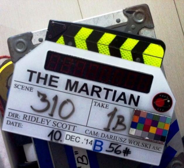 The Martian - Mentőeexpedíció. Rendezte: Ridley Scott. Kamera: Dariusz Wolski