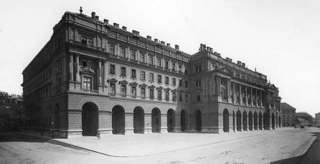 A Földmívelődési Minisztérium 1896-ban