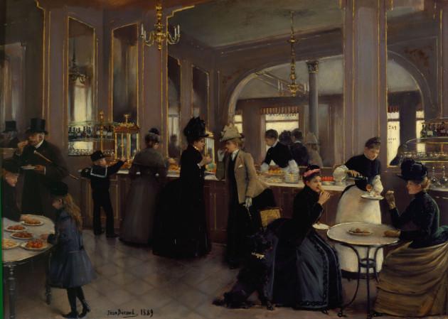 Párizsi cukrászda (Jean Béraud, 1889)