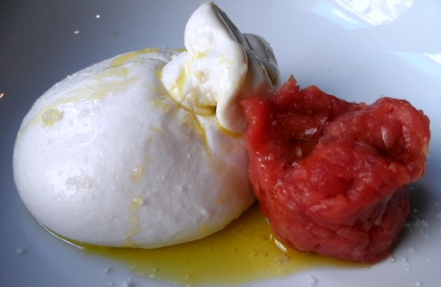 Burrata és tatár