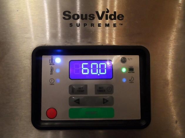 A Püski kolbászokat 60°C hőmérsékleten, 3 órán át hőkezeltem, szuvidáltam.