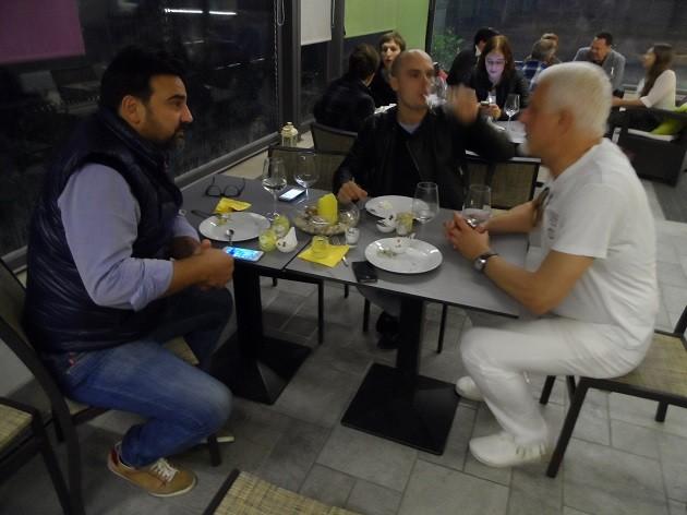 Gianni Annoni, Paolo Tommasi és Carlo Piccoli Olaszországban
