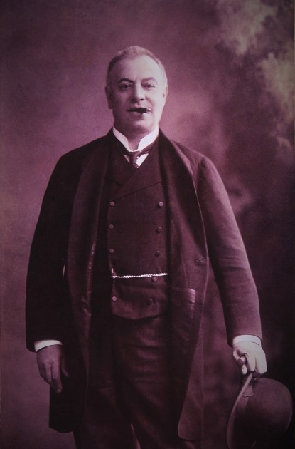 Újházi Ede (Fotó: Strelisky, 1903)