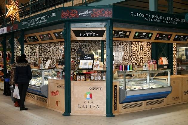 Via Lattea Gourmet Shop (Belvárosi Piac, Hold utca, Budapest)
