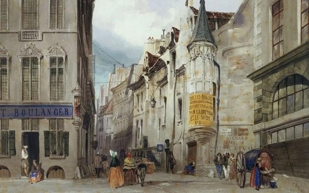 Az első étterem (Párizs, 1765)