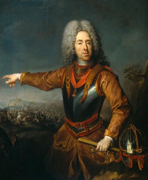 Savoyai Jenő ( Jacob van Schuppen festménye) Forrás: wikimedia)
