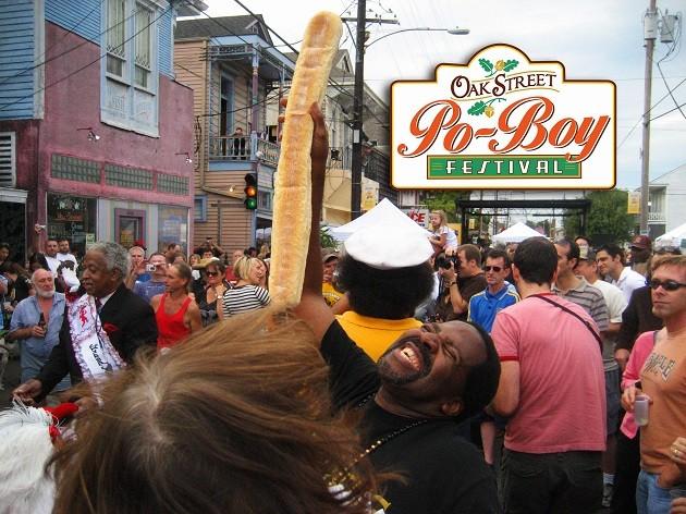 Oak Street Po-Boy fesztivál, New Orleans