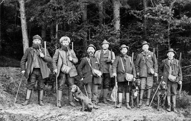19. századi vadászok