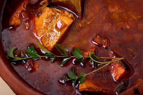 Keralai hal-curry (Forrás: keralasrecipes.wordpress.com)