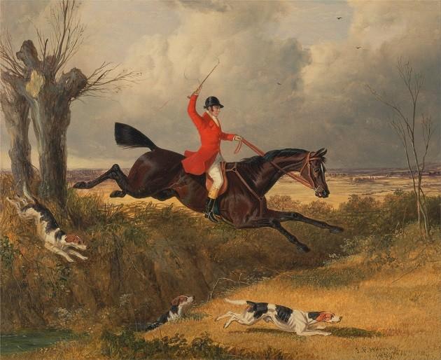 John Frederick Herring - Rókavadászat