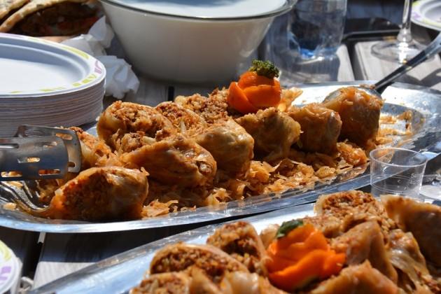 Töltött káposzta kacsahússal - Street-Food Brunch - Budapesti Tavaszi Vásár, Vörösmarty tér