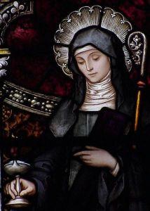 Szent Brigitta a sajtkészítők védőszentje