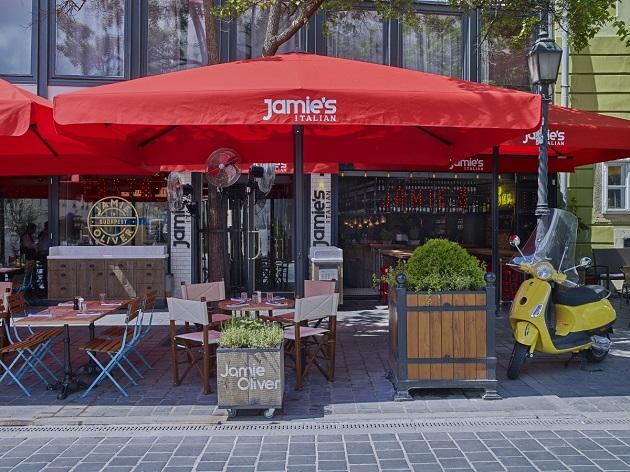 Jamie's Italian a Budai Várban