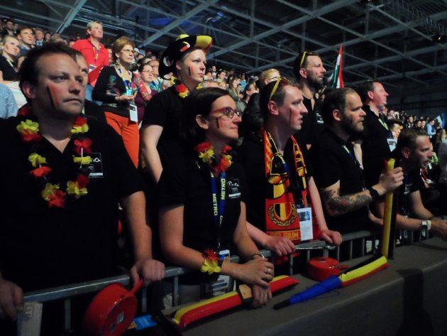 Bocuse d'Or Europe 2016 - Az eredményekre feszülten várakozó szurkolók