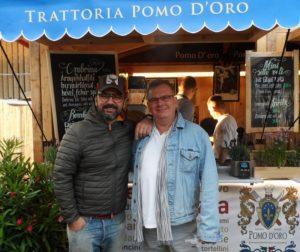 Gianni Annoni és Csíki Sándor
