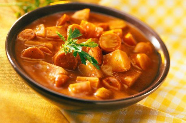 Paprikás krumpli a MAGGI receptje szerint (Fotó: maggi)