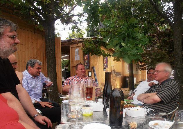 Gourmet Fesztivál 2012. (Molnár B. Tamás, Csapody Balázs, Bíró Lajos, mások a képen