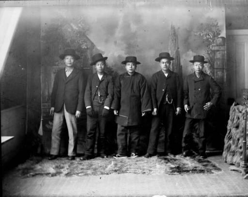 Kínai-amerikaiak, valamikor 1890 és 1910 között