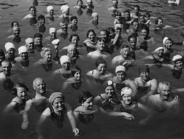 Hévízi tó, 1933