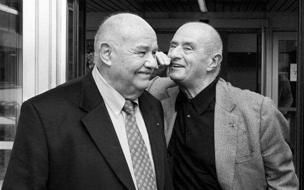 Pierre Troisgros és Paul Bocuse (Forrás: gourmet.com)