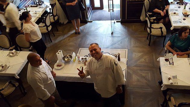 Andrej Dromov, a Budapest étterem séfje (Ogyessza, Ukrajna)