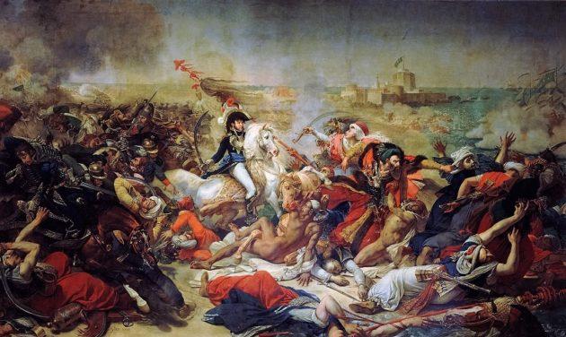 Murat tábornok az abukiri csatában (1799). (Antoine-Jean Gros festménye, 1806) (wikipedia)