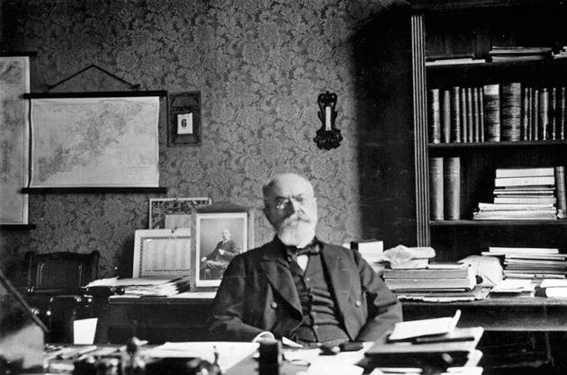 Friedrich August Karl Ferdinand Julius von Holstein (1837-1909), bundesarchiv bild