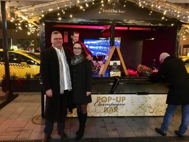 Pop-Up Champagne Bar, Váci utca