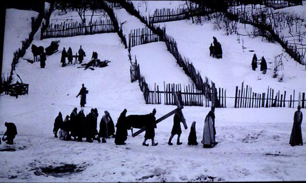 """Tarkovszkij.""""Andrej Rubljov"""" című film részlete (operatőr Vagyim Juszov)"""