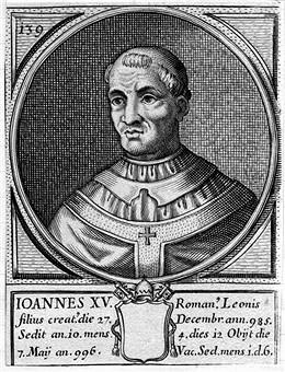 XV. János pápa