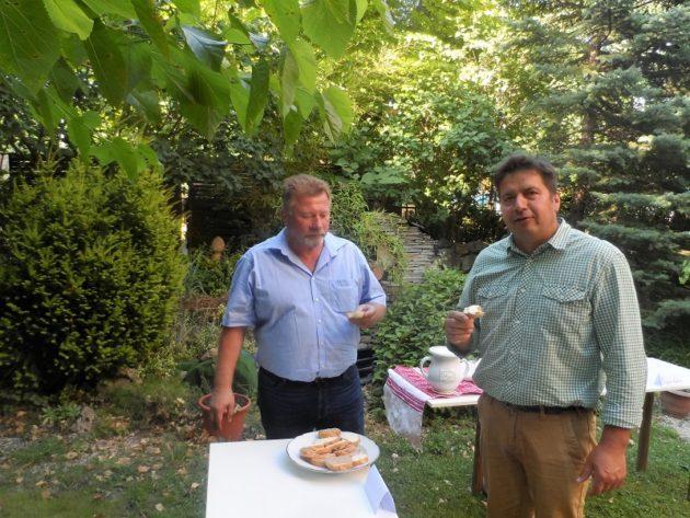 Balla Géza és Maurer Oszkár (Fotó: Csíki Sándor)