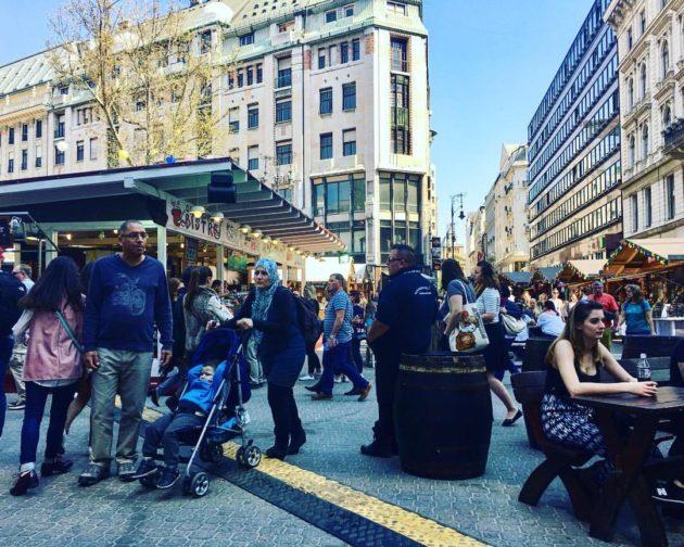 Budapesti Tavaszi Vásár és Forgatag 2017, Vörösmarty tér