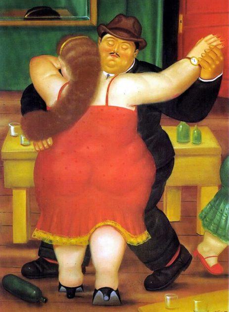 Botero festménye
