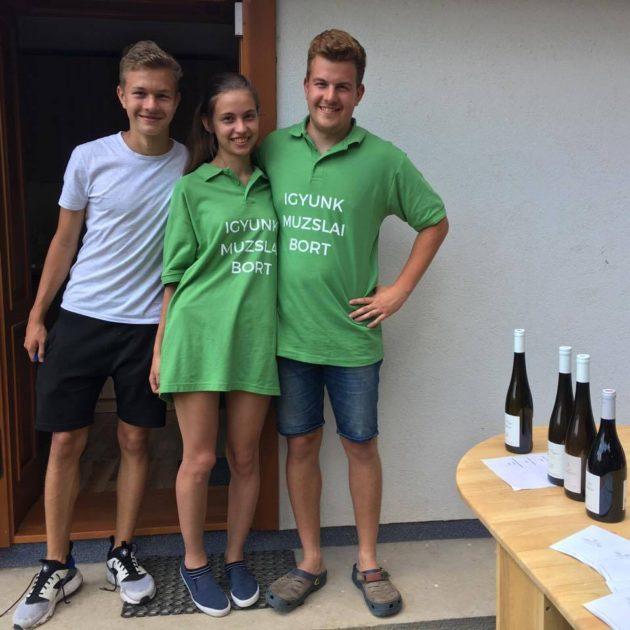 Bott Frigyes borászt a gyerekei helyettesítették